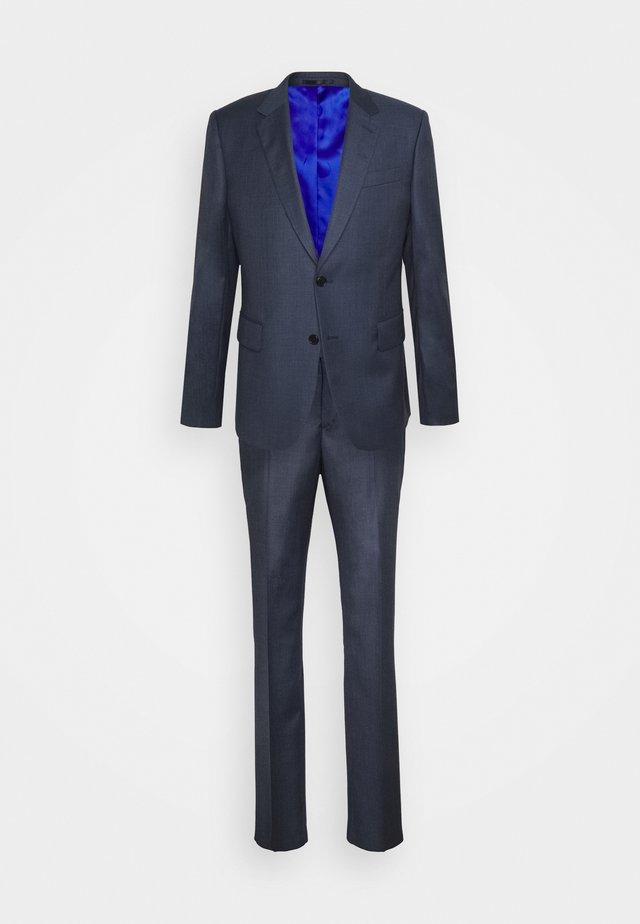 TAILORED FIT BUTTON SUIT - Dress - dark blue