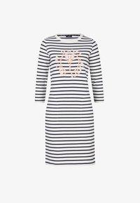 JOOP! - Jersey dress - navy/weiß - 6