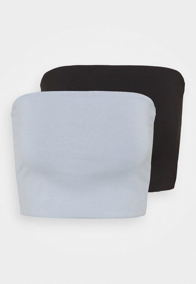 ADDILYN TUBE 2 PACK - Top - blueish lilac/black