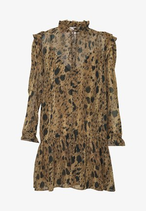 ROBE - Day dress - black/beige