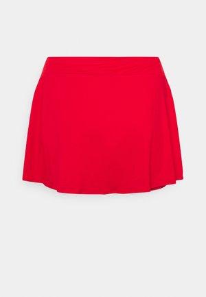 PLUS - Sports skirt - university red/white