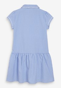 Next - Shirt dress - mottled blue - 1