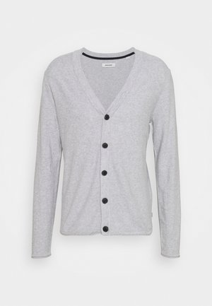 JJTHORN CARDIGAN - Kofta - cool grey melange