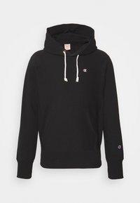 Champion Reverse Weave - HOODED LABELS - Sweatshirt - black - 0