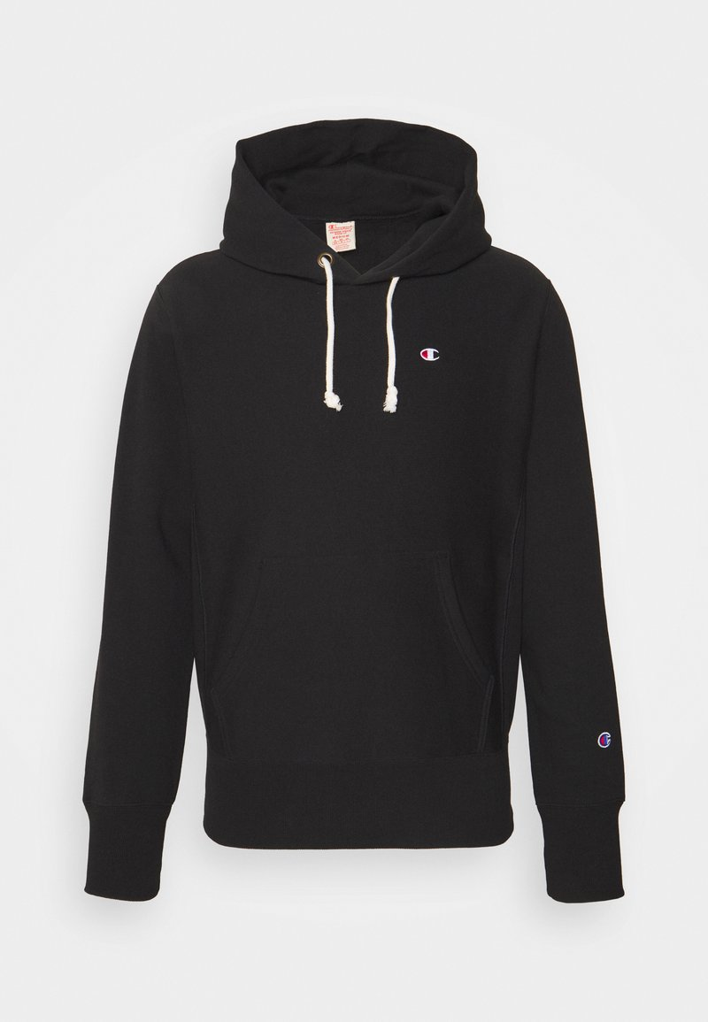 Champion Reverse Weave - HOODED LABELS - Sweatshirt - black