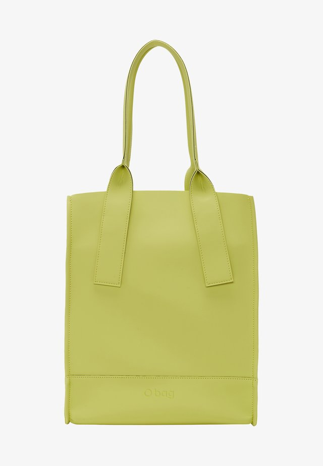Tote bag - celery green