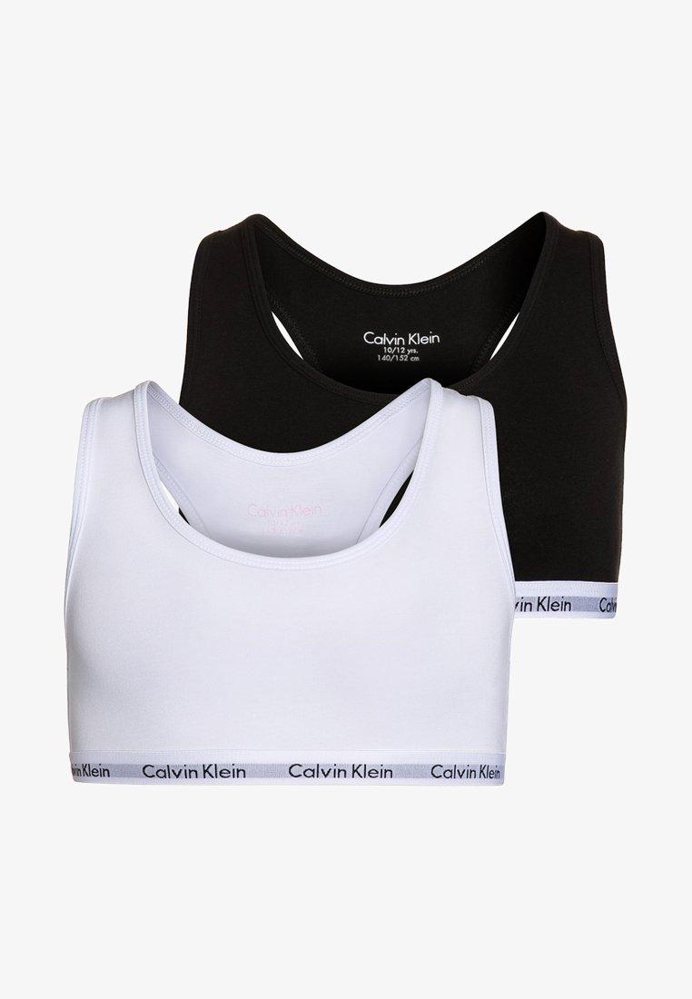 Calvin Klein Underwear - 2 PACK - Bustier - white/black