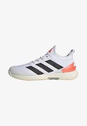 ADIZERO UBERSONIC 4 M - Clay court tennis shoes - white