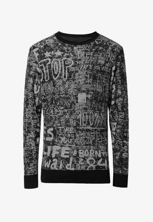 JERS PACIFICO - Sweter - black