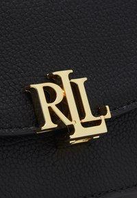 Lauren Ralph Lauren - CLASSIC PEBBLE MADISON  - Torba na ramię - black - 5