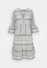 Vero Moda Tall - VMHAZEL DICHTE TUNIC - Day dress - snow white/night sky - 0
