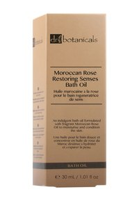 Dr Botanicals - MOROCCAN ROSE RESTORING SENSES BATH OIL 30ML - Bubble bath & soak - - - 1