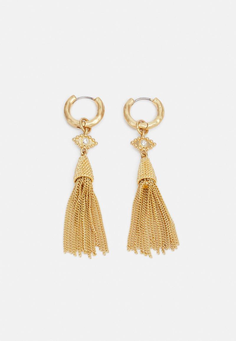 Rebecca Minkoff - TASSLE EARRING - Earrings - gold-coloured