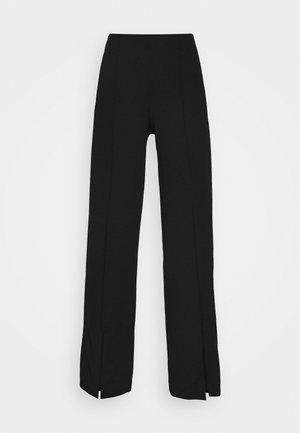 HARPER TROUSERS - Kalhoty - black