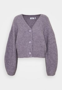 Weekday - HILLEVI HAIRY  - Cardigan - lilac purple dusty light - 0