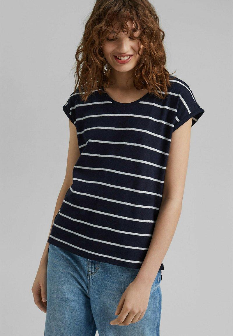 edc by Esprit - T-shirt imprimé - navy