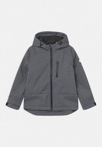 UNISEX - Soft shell jacket - black