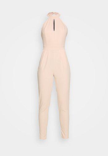SHAZNY HALTER NECK - Jumpsuit - salmon pink