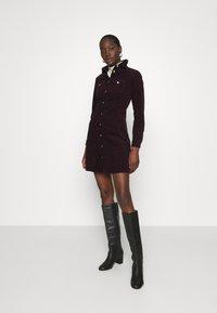 Dorothy Perkins - STRUCTURED SHIRT DRESS - Shirt dress - purple - 1