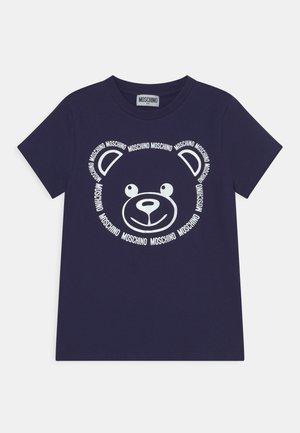 UNISEX - T-Shirt print - navy blue