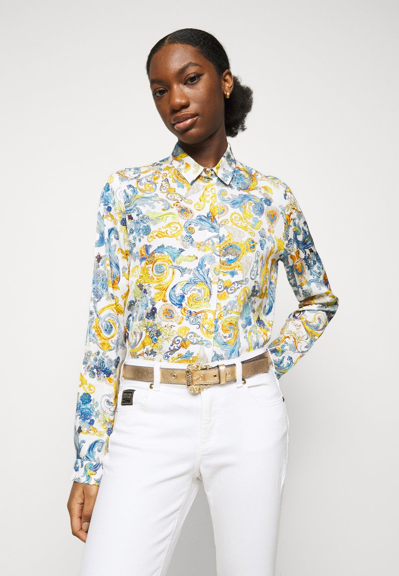 Versace Jeans Couture - BAROQUE BUCKLE - Belt - oro