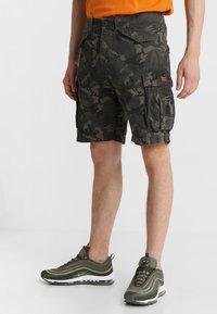 Superdry - CORE LITE RIPSTOP CARGO - Shorts - alpine camo - 0