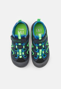 TOM TAILOR - Walking sandals - navy/royal/lime - 3