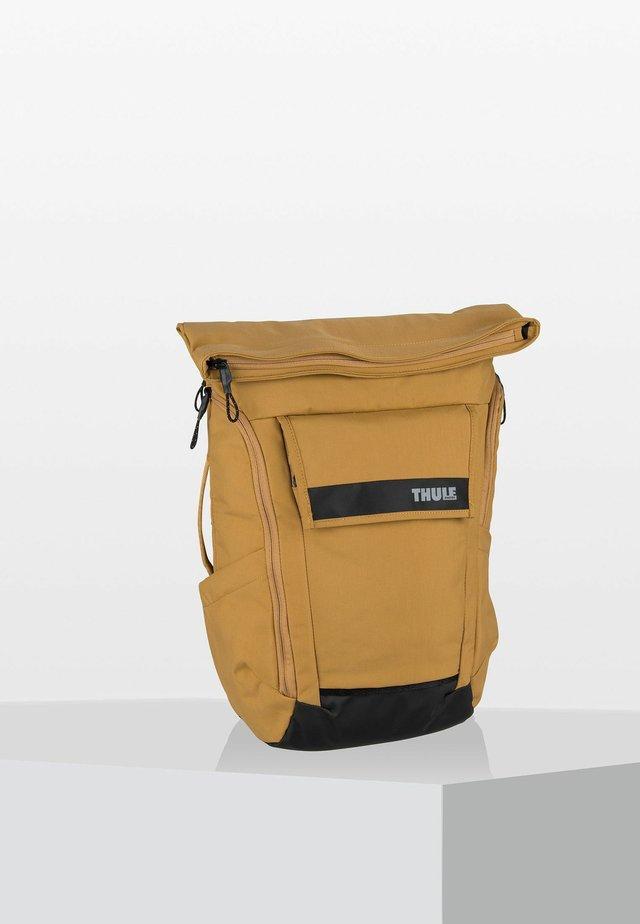 Rucksack - mottled yellow