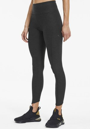 LUXE ECLIPSE - Leggings - black heather