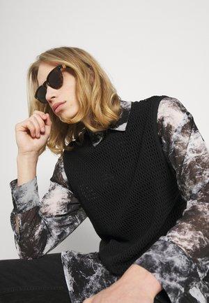 UNISEX - Okulary przeciwsłoneczne - havana/black