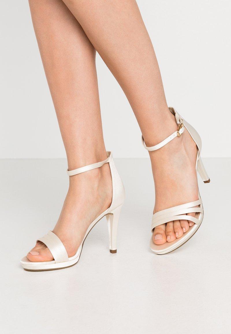 Tamaris - High heeled sandals - white