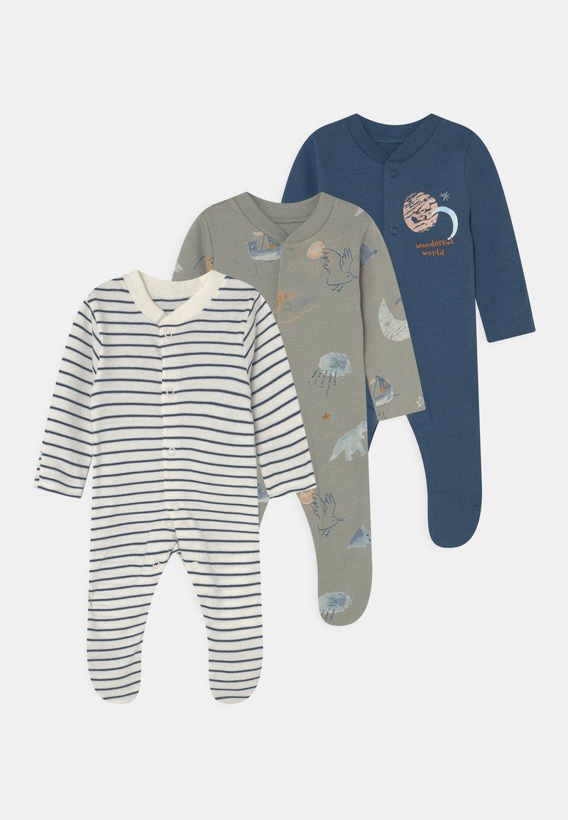 Marks & Spencer London - BABY 3 PACK - Sleep suit - multi-coloured