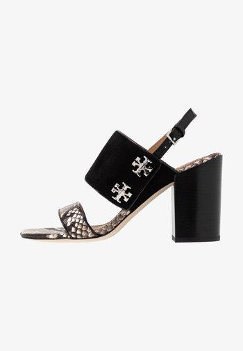 KIRA  - Sandály na vysokém podpatku - perfect black