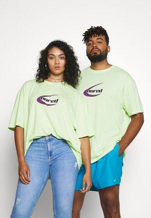 UNISEX - Triko spotiskem - light green
