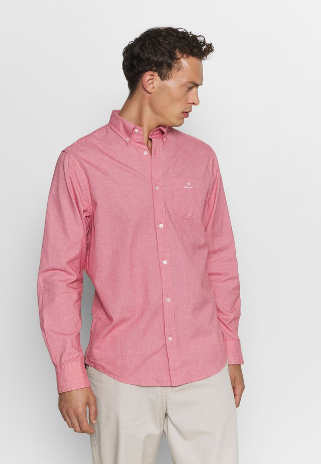 STRUCTURE REGULAR FIT - Shirt - fiery red