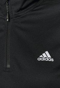 adidas Performance - Funkční triko - black/white - 2