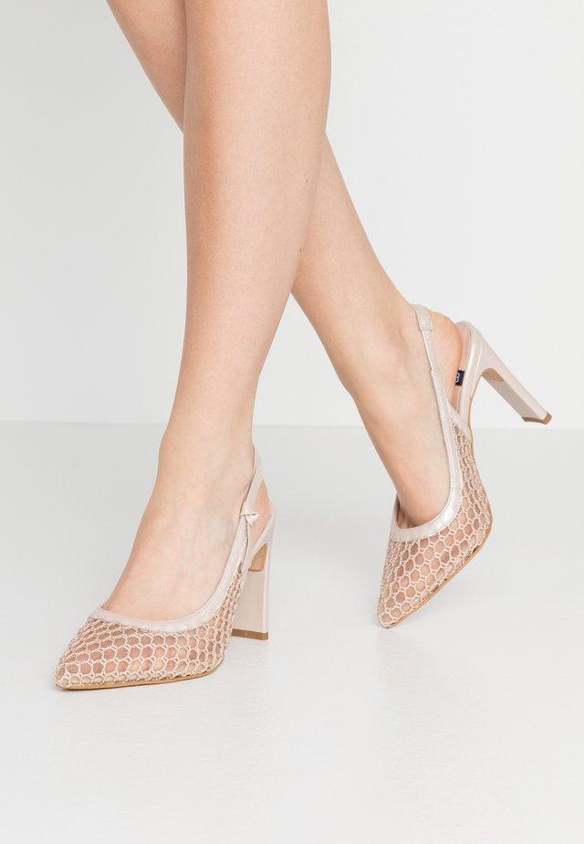 High heels - nude/japeto