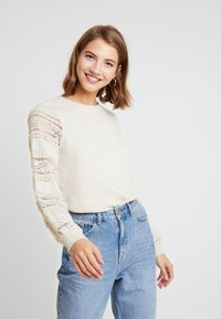 ONLY - ONLCLOVER - Sweatshirt - pumice stone - 0
