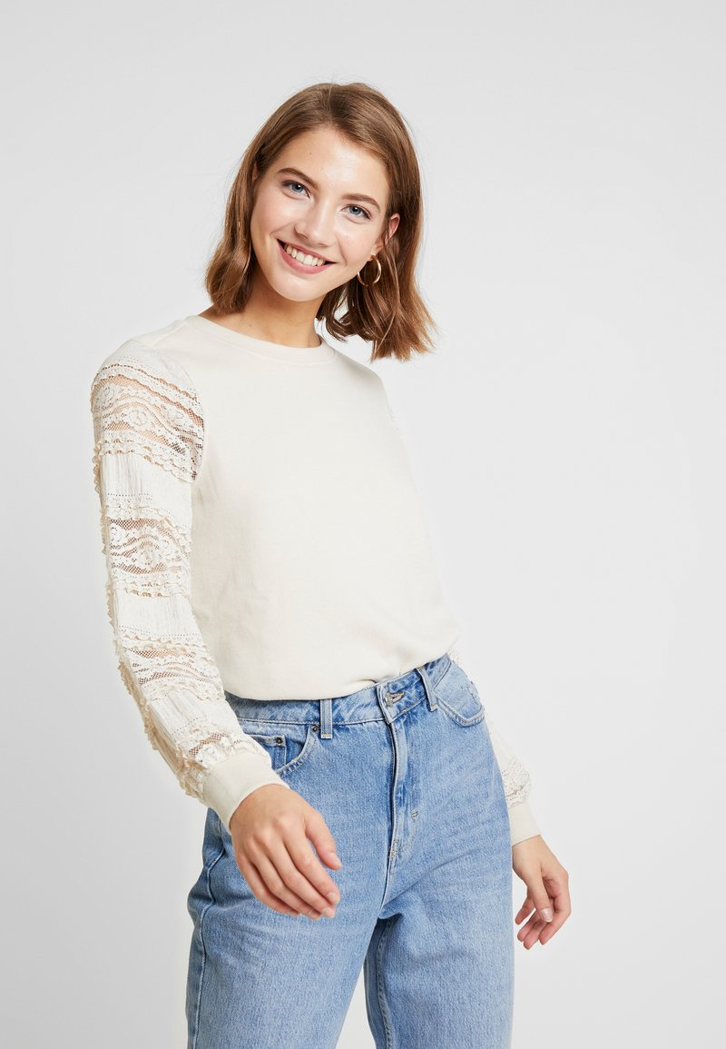 ONLY - ONLCLOVER - Sweatshirt - pumice stone