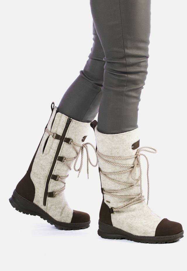 SAANA - Snowboots  - light grey