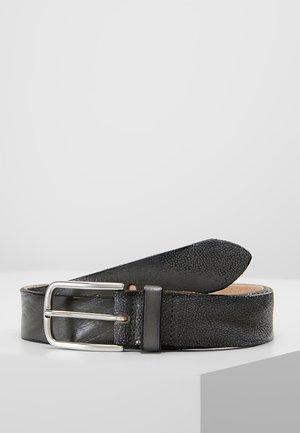Belt business - stahlgrau