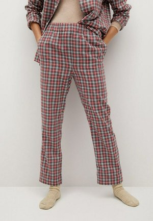 SYNDAY-I - Pyjama bottoms - rood