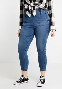 Simply Be - HIGH WAIST SHAPER  - Jeggings - mid blue - 0
