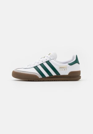 JEANS UNISEX - Sneakersy niskie - footwear white/collegiate green