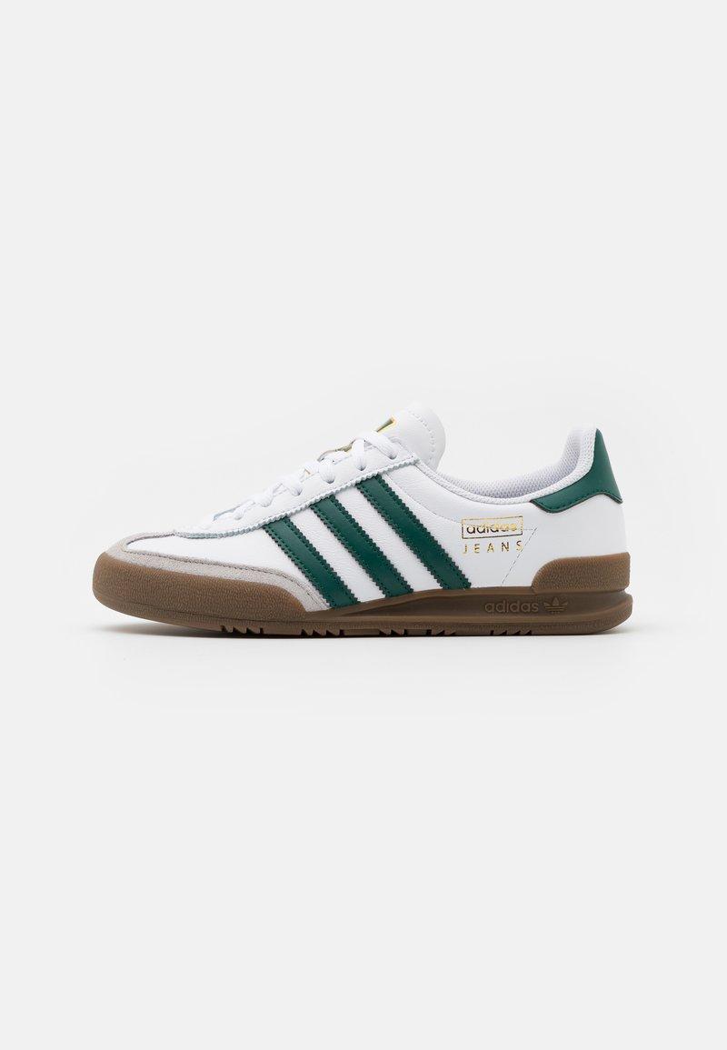 adidas Originals - JEANS UNISEX - Trainers - footwear white/collegiate green