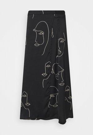 IHCAMERON  - A-snit nederdel/ A-formede nederdele - black