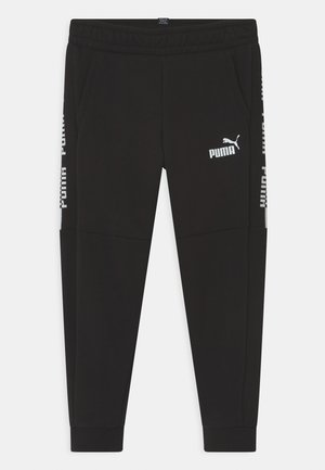 AMPLIFIED UNISEX - Tracksuit bottoms - puma black