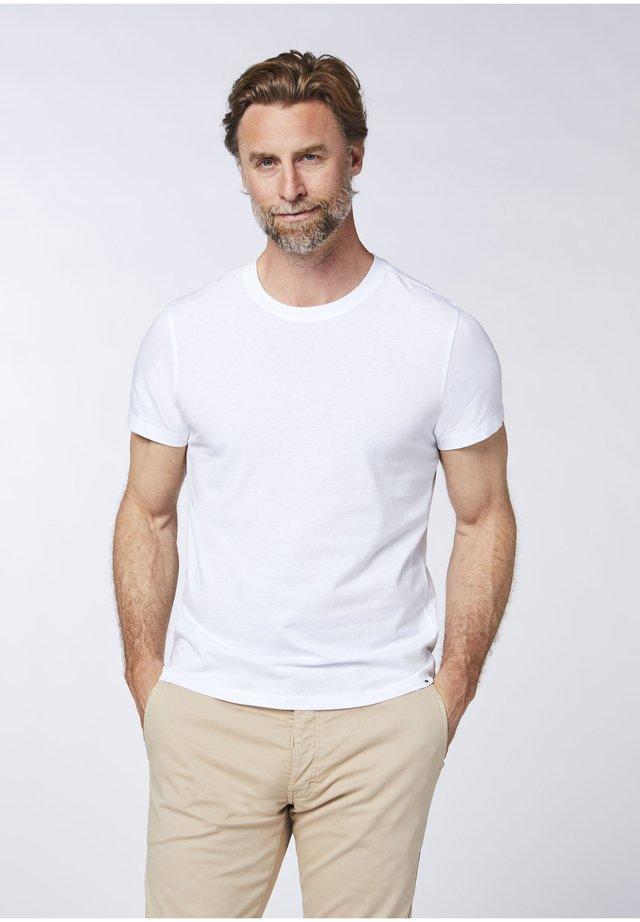 DOPPELPACK - Basic T-shirt -  bright white