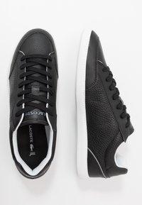 Lacoste - GRADUATECAP - Sneakers basse - black/grey - 1