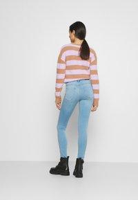 ONLY - ONLROYAL LIFE - Jeansy Skinny Fit - light blue denim - 2